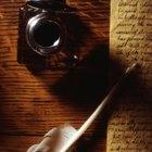 Instrumentos de escritura de la Edad Media