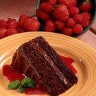 Cómo hacer relleno de chocolate para un pastel