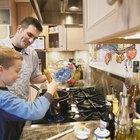 Cómo ajustar la temperatura del horno en una cocina Whirlpool