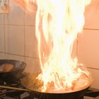 How to clean up after a small kitchen fire
