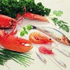 O que as lagostas de água doce comem?