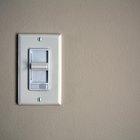 Cómo instalar un interruptor eléctrico de doble luz