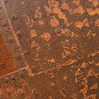 Cómo limpiar partes de metal con chorros de arena