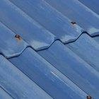 Los rayos y los techos de metal