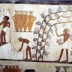 Telas y materiales egipcios tradicionales