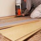 How to lay tile-effect laminate