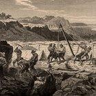 Ferramentas usadas antigamente para exploração de minerais