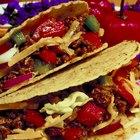 Cómo condimentar carne picada para tacos