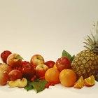 Frutas que provienen de los bosques tropicales