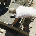 Cómo limpiar cemento seco en las herramientas