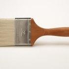 Como limpar tinta látex seca em pincéis