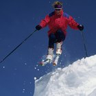 How to Go Off a Jump on Skis