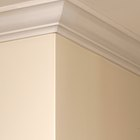 How to paint plaster coving