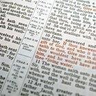 ¿Cómo hacer un resumen de un capítulo de la Biblia?
