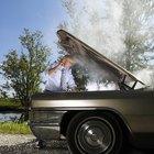 Como parar a fumaça de um carro após a troca de óleo?
