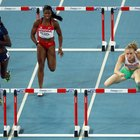 How to Snap Down a Lead Leg Quickly for Women's Hurdles