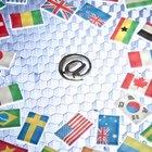 Banderas de países del mundo que tienen los mismos colores