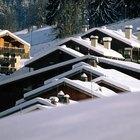 Pendiente recomendada de un techo para la nieve
