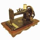 Cómo desengrasar una vieja máquina de coser Singer