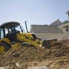 Cómo manejar una máquina excavadora