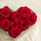 Decoración casera para un aniversario romántico