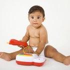 Solución de limpieza segura para juguetes de bebé