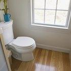 Cómo instalar piso flotante en un baño
