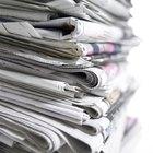 Reciclando papéis de jornal sem um liquidificador