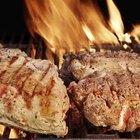 Roasted lamb ribs