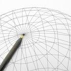 Como encontrar o centro e o raio de uma esfera