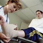 Como reabilitar uma fratura do tornozelo por avulsão