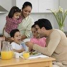 Actividades sobre nutrición y alimentos para niños en edad preescolar
