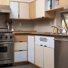 Cómo diseñar un gabinete esquinero de cocina para utilizar mejor la esquina ciega