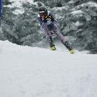 Downhill Ski Racing Techniques