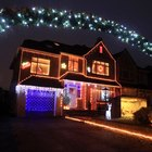 How to hang outdoor Christmas lights on fascia board