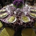 Que alturas devem ter as mesas de jantar?