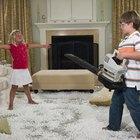 Cómo limpiar un sofá con espuma seca