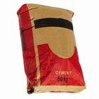¿Cuánto concreto  produce una bolsa de cemento de 80 lb (36,3 kg)?
