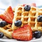 A diferença entre waffles e panquecas