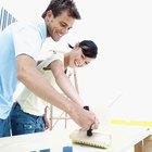 Como fazer cola para papel de parede