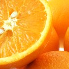 Slices of oranges like a background
