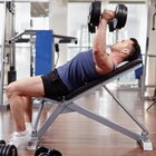 How to Make the Chest Bigger With Dumbbells