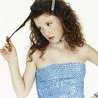 Cómo reducir los enredos en el pelo largo y rizado