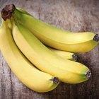 ¿Qué hacer con las bananas maduras sobrantes?