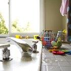 ¿Qué tipo de azulejos puedo usar para la encimera de la cocina?