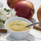 Fresh homemade apple sauce