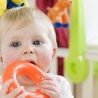 Alimentos para un bebé en edad de dentición