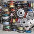 Como encher uma bobina de máquina de costura à mão