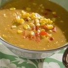 Como adicionar amido de milho para engrossar uma sopa