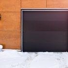 ¿Cuáles son los tamaños estándar de puerta de garaje?